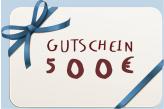 500 EURO GIFT CARD
