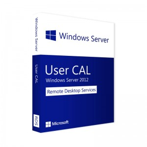 Microsoft Remote Desktop Services 2012 USER CAL