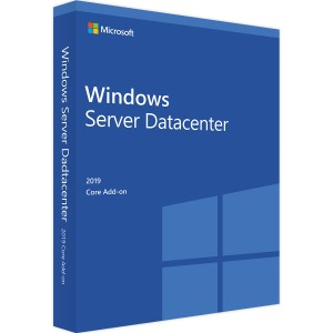 Microsoft Windows Server 2019 Datacenter - 2 Core Zusatzlizenz