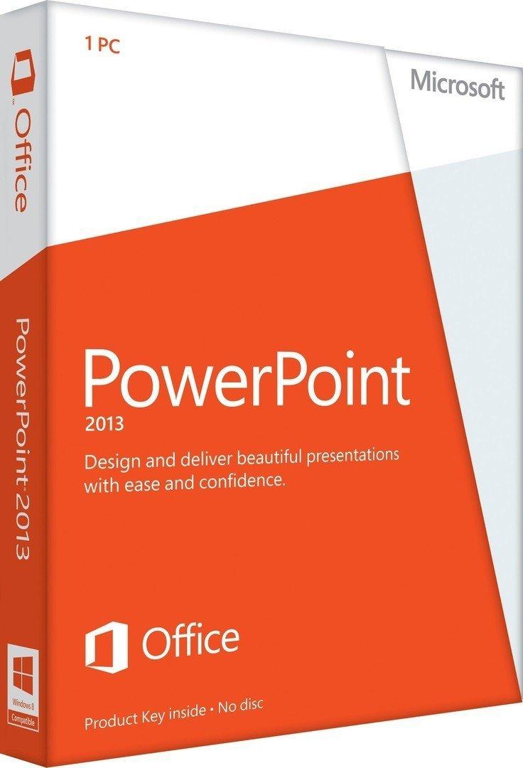 microsoft powerpoint 2013 online kaufen als vollversion. Black Bedroom Furniture Sets. Home Design Ideas